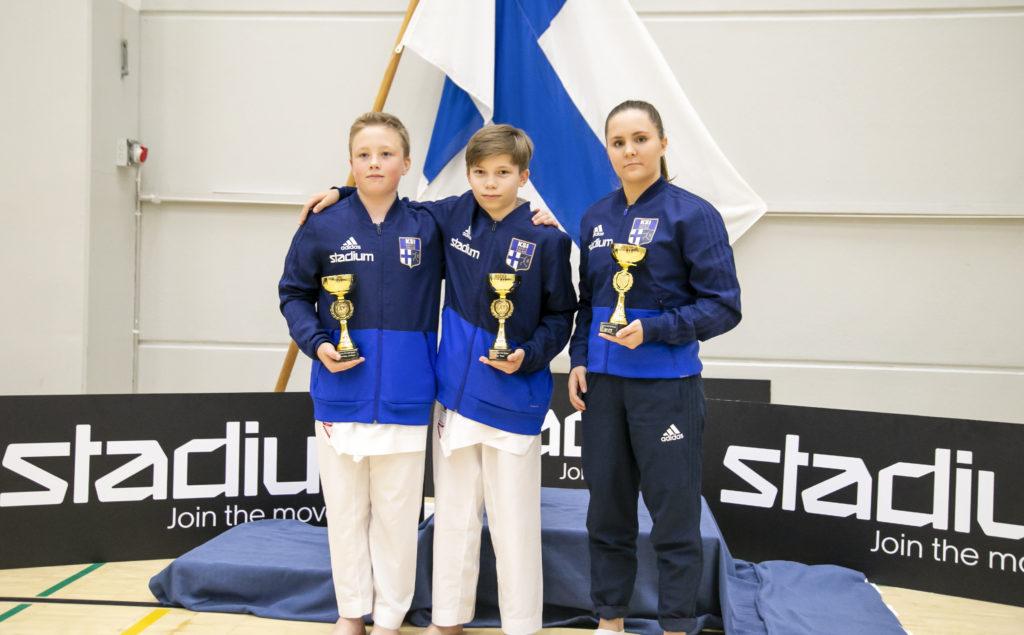 Nuorten SM-kilpailut Kotkassa